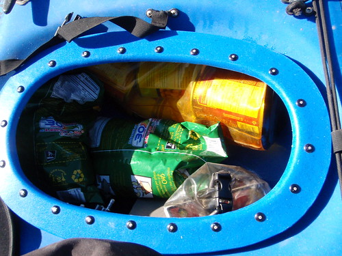 Rear Kayak Hatch. Flickr Photo Credit: vikapproved