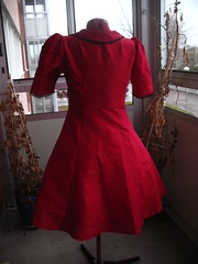 Christmas dress 2008 back
