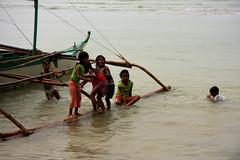 El Nido, Palawan (MagdaBis) Tags: travel water kids children fun boat asia philippines philipino elnido