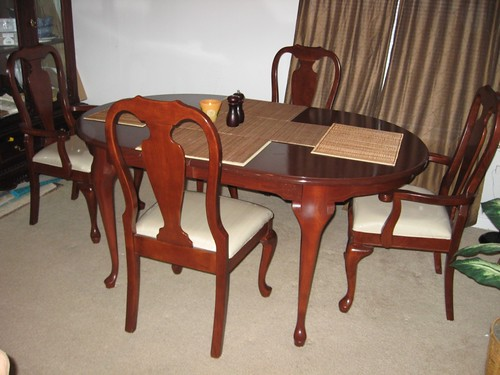 #5, 4-8seat dining table $700