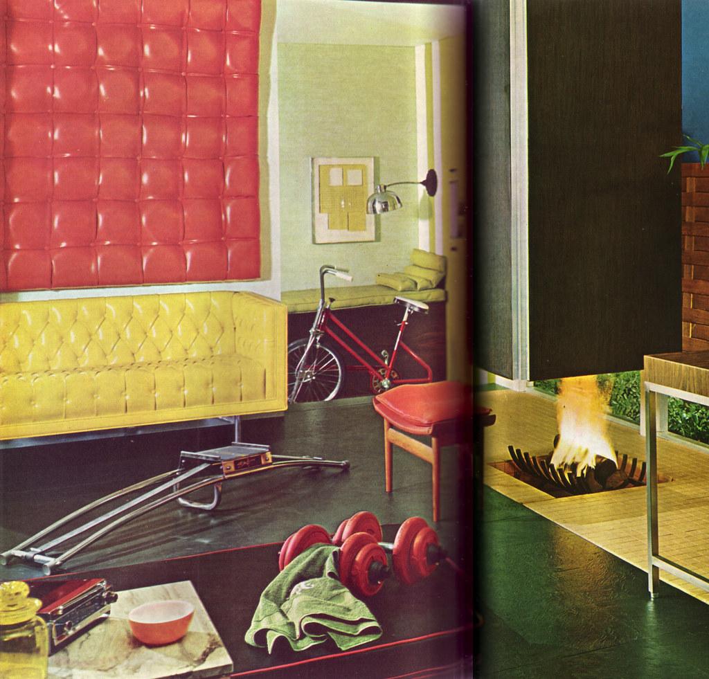 Vinyl Exercise Room