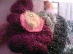 Desert rose CloseUp (charismagick) Tags: necklace handmade fiberart choker textilejewellery