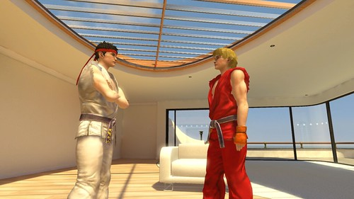 PlayStation Home Screenshot Street Fighter RYU & KEN