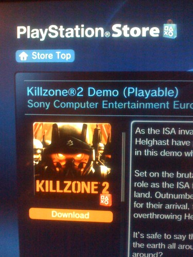 killzone 2 demo ps3