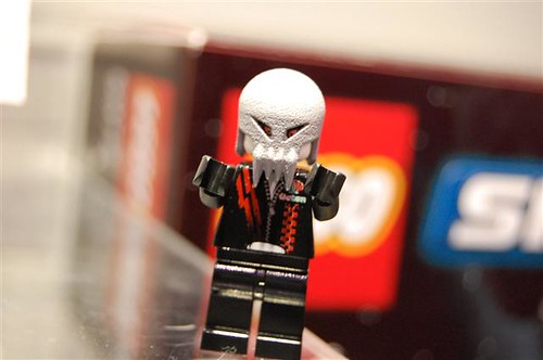 Lego skull face alien minifig