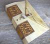 Ledger Replica (MyHandboundBooks) Tags: brown white parchment replica bookbinding handbound longstitch myhandboundbooks ledgerbinding