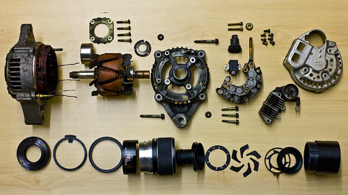 Daihatsu Sportrak Altenator Versus Optomax 135mm f/2.8 - Day 189 of Project 365