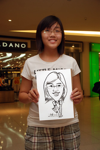 Caricature live sketching for The Cocoa Trees - Part 1 - 8