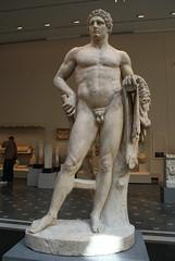 Marble Statue of a Youthful Hercules (griannan) Tags: 2009 hercules loh metmuseum greekandromangalleries opalartseekers4 WLA:org=metmuseum WLA:cat=1 WLA:team=opalartseekers4