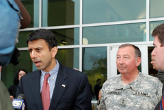 Louisiana National Guard & Gov. Bobby Jindal