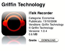 App Store italkrecorder