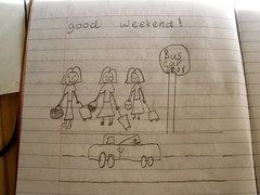 H illustrated a story..