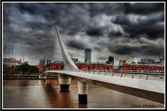 Nublado Puente de la Mujer