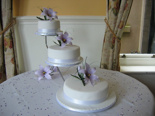 3 tier wedding cake designs