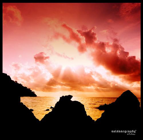 Pulau Sayak Sunset #5 (Cokin)