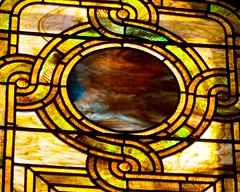 Williard Memorial Chapel Stained Glass Window (Katy Silberger) Tags: romanesquerevival stainedglasswindows presbyterianchurch tiffanyglass nikond60 auburnny nationalregistryofhistoricplaces louisctiffany willardmemorialchapel auburntheologicalseminary tiffanyglassanddecoratingcompanyofnewyorkcity