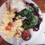 my yummy breakfast at Urth Caffe