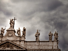 The Saints are Coming? (San Giovanni, Rome)