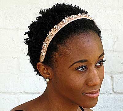 diamond flower headband