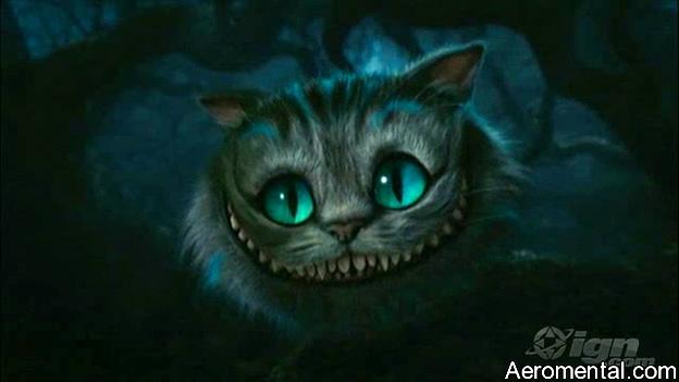 Trailer Alicia en el País de las Maravillas gato risón