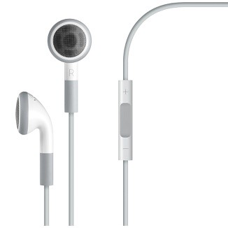 Apple earphones and mic