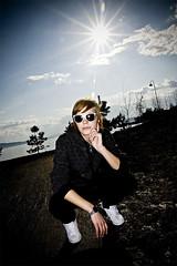 Elise (Alex Worren) Tags: sky sun portraits flash strobist