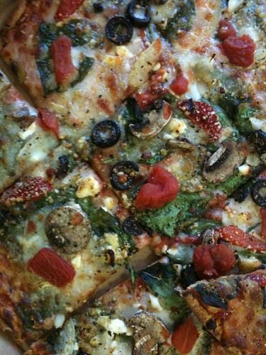 Domino's Pacific Veggie Pizza