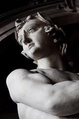 Strange interlude (detail) (wamcclung) Tags: italy sculpture male statue nude italia statues baroque vicenza veneto anticando