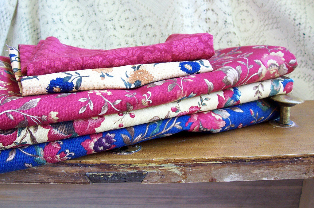 fabric for some kind of quilting or piecing