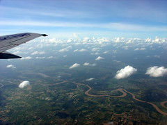 Take-off from Ubon Ratchathani, Thailand {Explore} (Eustaquio Santimano) Tags: thailand khmer view aerial part empire soe northeastern provinces ubon supershot ratchathani mywinners anawesomeshot concordians changwat