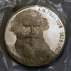 Leo Tolstoy Commemorative Coin