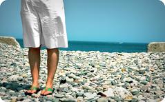 new england summer (* Yaya) Tags: summer beach waterfront hometown massachusetts newengland pebbles jenn scituate