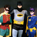 1987 Robin, Batman, Batgirl