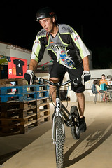 Bike trial (Alexr71) Tags: biker trial gonone lampista strobist