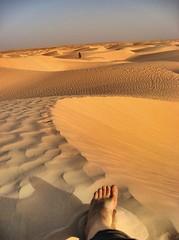 The Sahara Over my Foot (Victoria Carpenter) Tags: sahara foot desert northafrica tunisia adventure sanddunes photocontesttnc11