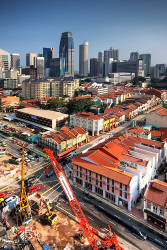food heritage tourism singapore chinatown day chinese restaurants aerial restored attraction shophouses southbridgeroad williamcho