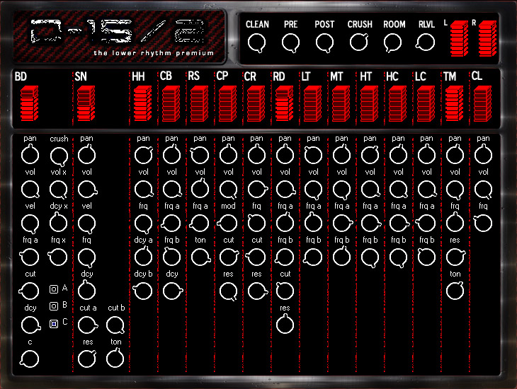 d15/2 drum module