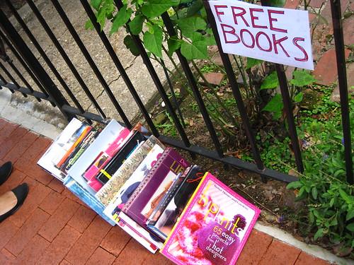 Free book pile