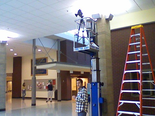 Timelapse of RHAM High School Atrium