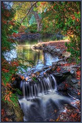 Fall is just around the corner (TT_MAC) Tags: park nature landscape waterfall stream fallcolors hdr victoriabc beaconhillpark urbanpark abigfave platinumphoto colorphotoaward