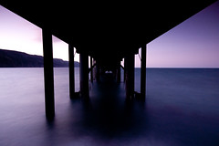 Jetty Perspective, Lundy Island, UK (jogorman) Tags: uk bridge sunset england island pier twilight nikon long exposure dusk jetty united kingdom devon puffin nikkor filters lundy devonshire cokin d3x