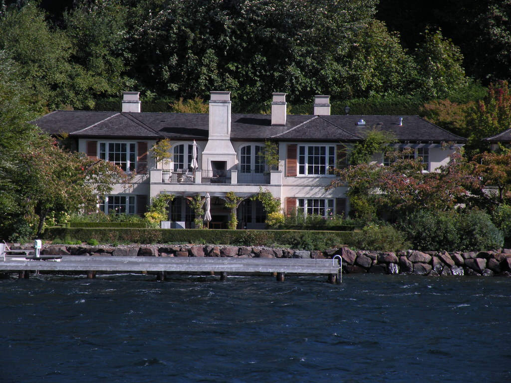 Bill Gates House Tour Seattle Samsung Blu Ray With Web Browser