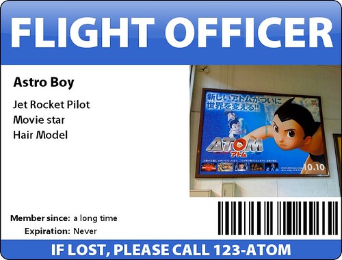 Astro Boy ID Card