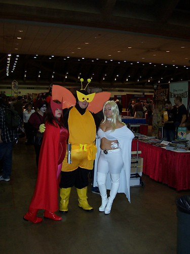 100_8224 Scarlet Witch, Bee, White Queen