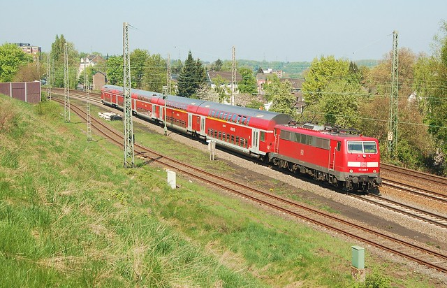 DB Regio 111 009-7 met RE9 by Peter Gootzen