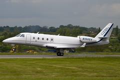 N150GV - 260 - Gulfstream Aerospace - Gulfstrem G150 - Luton - 090516 - Steven Gray - IMG_2616