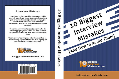 10 Biggest Interview Mistakes Book