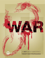 War Made Easy (freestylee) Tags: art america poster us graphics media war peace military lies iraq vietnam antiwar afganistan michaelthompson