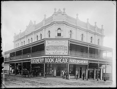Old Municipal Chambers, Corner Hunter and Market Streets, Newcastle, NSW, [n.d.] (Cultural Collections, University of Newcastle) Tags: newcastle book australia nsw municipalbuilding marketst hunterst ralphsnowball snowballcollection ralphsnowballcollection stegga costeggalangers arcadelangerbook storestoreshopcarrington colthingr harrowell asgn0828b37 newcastleregionnswhistorypictorialworks photographynewsouthwalesnewcastle