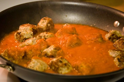 turkey meatballs in sauce